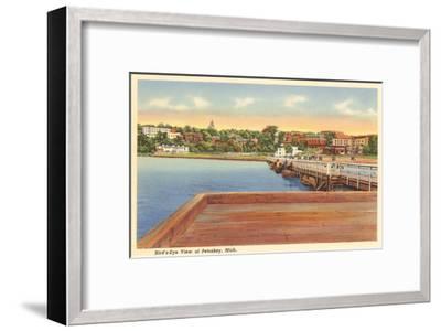 Petoskey, Michigan--Framed Art Print