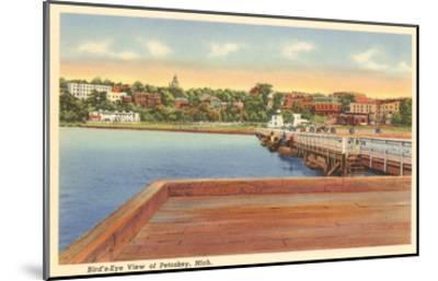 Petoskey, Michigan--Mounted Art Print