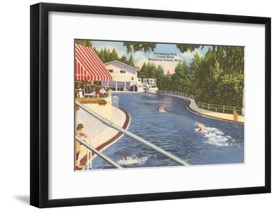 Grand Hotel, Mackinac Island, Michigan--Framed Art Print