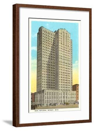 Buhl Building, Detroit, Michigan--Framed Art Print