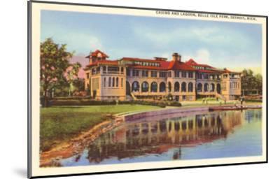 Casino, Belle Isle, Detroit, Michigan--Mounted Art Print