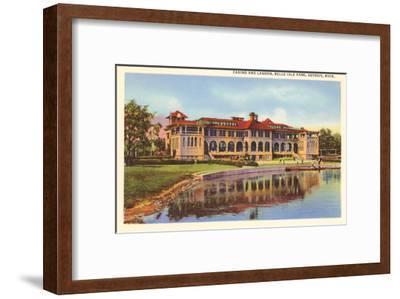 Casino, Belle Isle, Detroit, Michigan--Framed Art Print