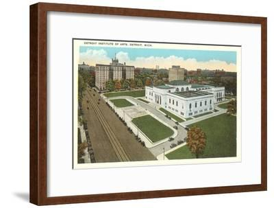 Institute of Arts, Detroit, Michigan--Framed Art Print