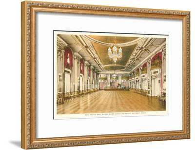 Interior, Book-Cadillac, Detroit, Michigan--Framed Art Print