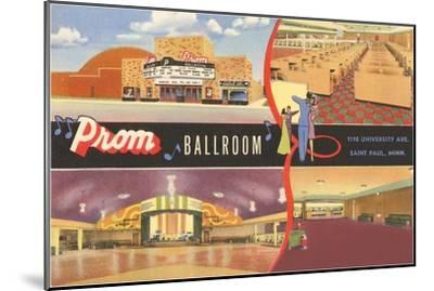 Prom Ballroom, St. Paul, Minnesota--Mounted Art Print