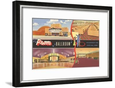 Prom Ballroom, St. Paul, Minnesota--Framed Art Print