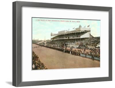 Minnesota State Fair, St. Paul, Minnesota--Framed Art Print