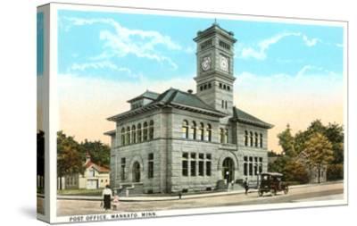 Post Office, Mankato, Minnesota--Stretched Canvas Print