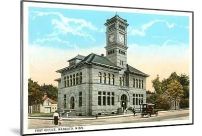 Post Office, Mankato, Minnesota--Mounted Art Print
