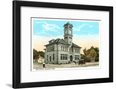 Post Office, Mankato, Minnesota--Framed Art Print