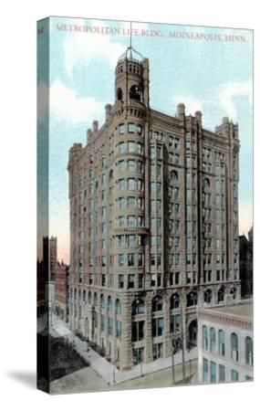 Metropolitan Life Building, Minneapolis, Minnesota--Stretched Canvas Print