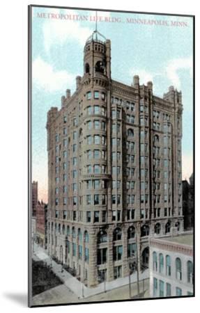 Metropolitan Life Building, Minneapolis, Minnesota--Mounted Art Print