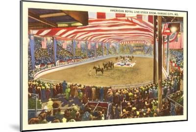 Livestock Show, Kansas City, Missouri--Mounted Art Print