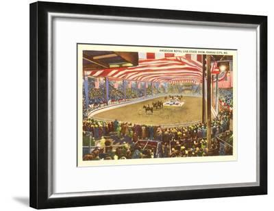 Livestock Show, Kansas City, Missouri--Framed Art Print