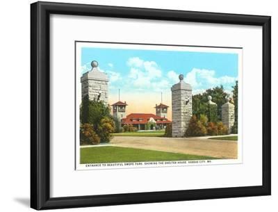 Swope Park, Kansas City, Missouri--Framed Art Print