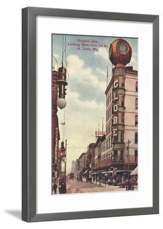 Franklin Avenue, St. Louis, Missouri--Framed Art Print