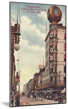 Franklin Avenue, St. Louis, Missouri--Mounted Art Print