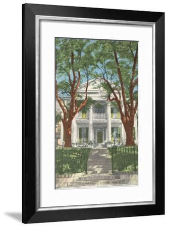Stanton Hall, Natchez, Mississippi--Framed Art Print