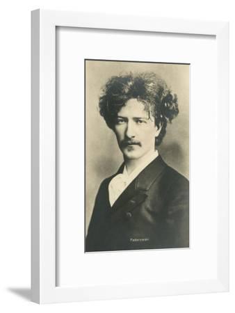 Photo of Ignacy Jan Paderewski--Framed Art Print