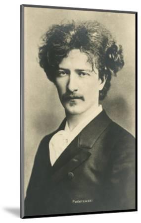 Photo of Ignacy Jan Paderewski--Mounted Art Print