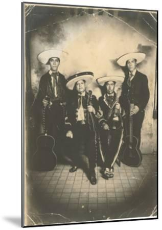 Photograph of Mariachis--Mounted Art Print