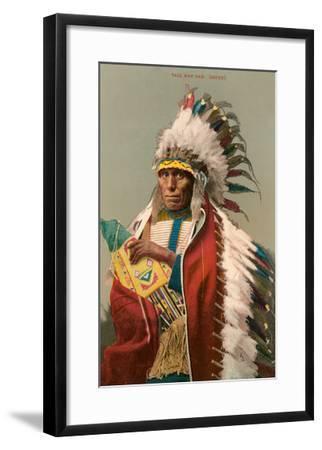 Tall Man Dan, Sioux Indian--Framed Art Print