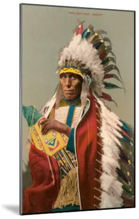 Tall Man Dan, Sioux Indian--Mounted Art Print