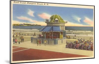 Bandstand, Hampton Beach, New Hampshire--Mounted Art Print