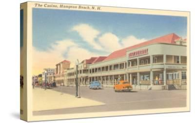 Casino, Hampton Beach, New Hampshire--Stretched Canvas Print