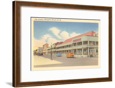 Casino, Hampton Beach, New Hampshire--Framed Art Print