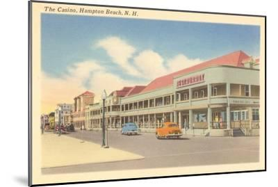 Casino, Hampton Beach, New Hampshire--Mounted Art Print