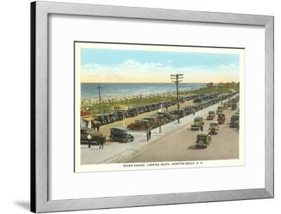 Ocean Avenue, Hampton Beach, New Hampshire--Framed Art Print