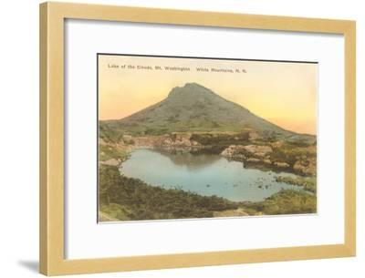 Lake of the Clouds, White Mountains, New Hampshire--Framed Art Print