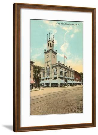 City Hall, Manchester, New Hampshire--Framed Art Print