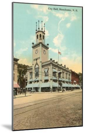 City Hall, Manchester, New Hampshire--Mounted Art Print