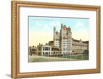 Blenheim Hotel, Atlantic City, New Jersey--Framed Art Print