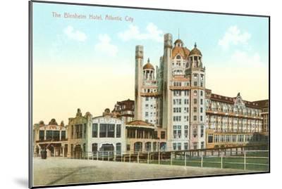 Blenheim Hotel, Atlantic City, New Jersey--Mounted Art Print