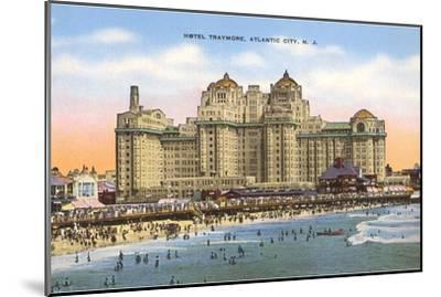 Hotel Traymore, Atlantic City, New Jersey--Mounted Art Print