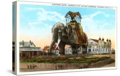 Elephant Hotel, Atlantic City, New Jersey--Stretched Canvas Print