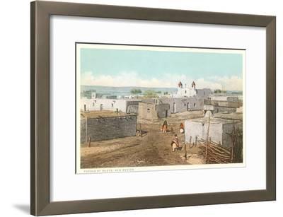 Isleta Pueblo, New Mexico--Framed Art Print