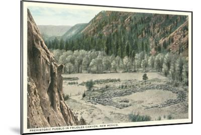 Bandelier National Park, New Mexico--Mounted Art Print