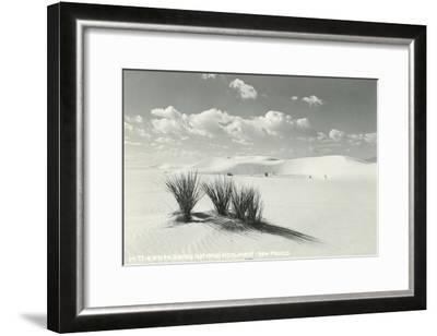 White Sands National Monument, New Mexico--Framed Art Print