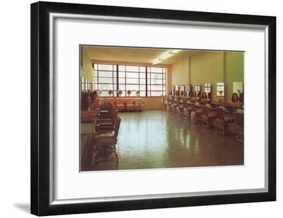 Beauty College--Framed Art Print