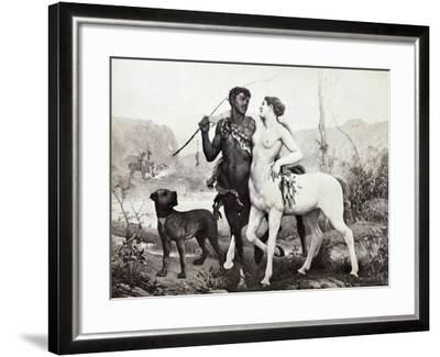 Schutzenberger: Centaurs-Louis Frederic Schutzenberger-Framed Giclee Print