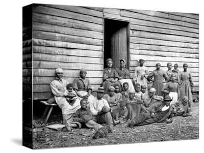 Civil War: Freed Slaves--Stretched Canvas Print