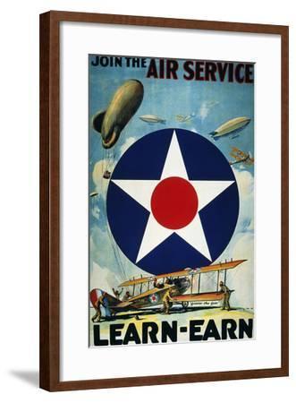 World War I: Air Service.--Framed Giclee Print
