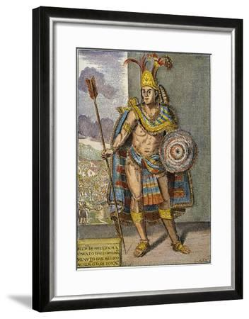 Montezuma Ii (1480?-1520)--Framed Giclee Print