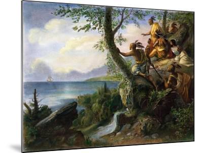Hudson: New York, 1609--Mounted Giclee Print