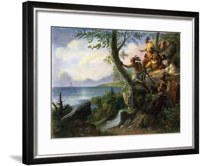 Hudson: New York, 1609--Framed Giclee Print
