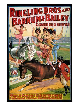 Circus Poster, 1920S--Premium Giclee Print